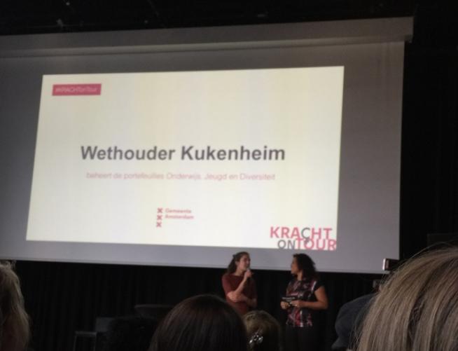 KRACHT on Tour Amsterdam en ontmoeting met Wethouder Kukenheim