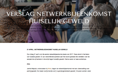 SPE-Amsterdam (Servicepunt Emancipatie) – Verslag netwerk bijeenkomst huiselijk geweld